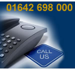 Call us on 01642 698 000